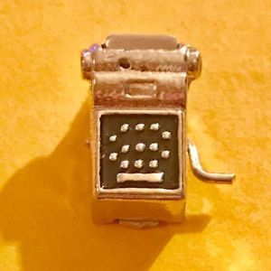 "Jewelry - STERLING SILVER ""ADDING MACHINE"" CHARM"